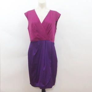 Vince Camuto Faux Wrap Dress
